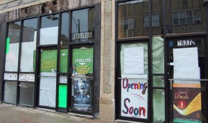 Two Vacant Storefronts