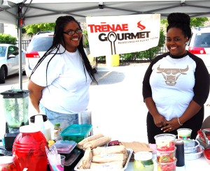 ____ and Britney of Trenae Gourmet